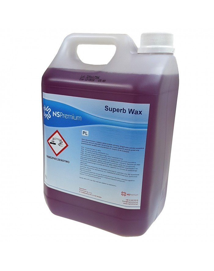 WOSK SUPERB WAX 5L